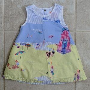 Joules Beach Print Dress